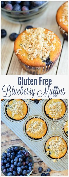 Paleo and Gluten Free Blueberry Muffins. Moist and full of flavor, these paleo muffins taste like they came from your favorite bakery. Full of whole, unprocessed ingredients, this is the best gluten free muffin recipe out there!