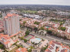 Unobstructed views from the 21st floor penthouse of Pacific Regent 62+ Retirement community. #SanDiego #UTC #LaJolla #Retirementcommunity