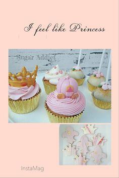 #princess #cupcakes #cakepops