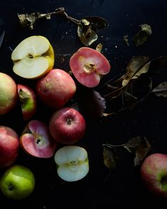 For the Blushing Apple Pie.