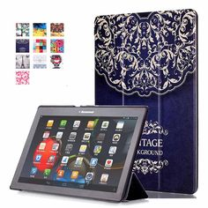 Painted Case For Lenovo Tab 2 A10 70F Case Cover For Tab2 A10-70 70 A10-70F A10-70L A10-30 X30F 10.1'' Case+Film+Stylus Pen