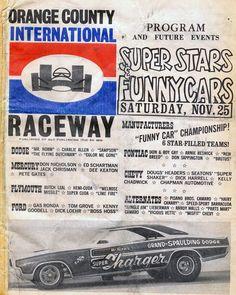Vintage Drag Racing - OCIR poster