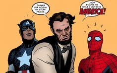 Marvel Comics love Lincoln.