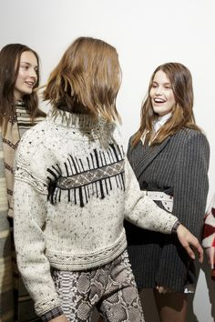 Isabel Marant Fall 2018 Fashion Show Backstage - The Impression