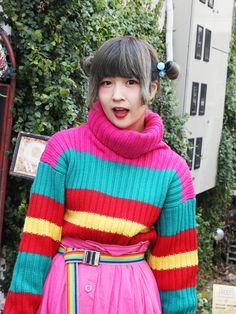 Beautiful knitted sweater!