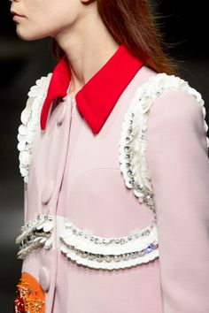 In Detail: Prada, Spring 2014.