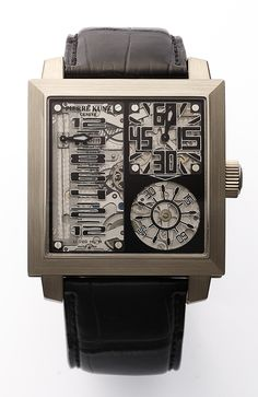 PIERRE KUNZ: a chronograph artistic masterpiece
