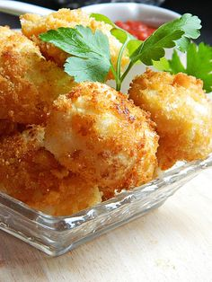 extra-crispy fried cauliflower