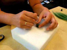 Plstění - návod na plstěnou kuličku