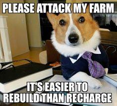 Please Attack My Farm #Ingress #Memes
