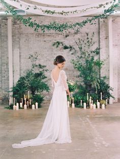 Long sleeve wedding dresses we're swooning over! Click here to see more here: http://www.stylemepretty.com/little-black-book-blog/2015/12/07/long-sleeve-dresses-thatll-make-you-forget-about-strapless/