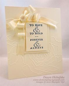 nice wedding card