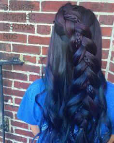 19 Fishtail Hairstyles for that hip look  Hairstyle Monkey Fishtail Hairstyles, Indian Hairstyles, Girl Hairstyles, Hair Makeup, Braids, Dreadlocks, Long Hair Styles, Monkey, Beauty