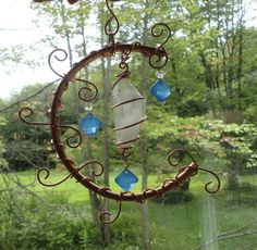 SALE Connected Garden Sculpture Earth and by JewelsInTheGarden