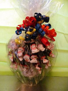 Candy Bouquet - Centerpiece, Gift. Candy Arrangement - Made to Order, Custom Order