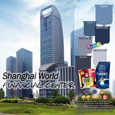 Kawan EMCO, di Shanghai China terdapat sebuah gedung yang memiliki ketinggian hingga 474m loh, Gedung tersebut mulai dibangun sejak tanggal 27 Agustus 1997 dan resmi dibuka pada tanggal 28 Agustus 2008. Pembangunan gedung tersebut mengabiskan dana sebesar 1,2 milyar USD. Bangunan tersebut berfungsi sebagai kantor, hotel, ruang pertemuan, menara observasi, dan juga sebuah mall yang terletak pada lantai bawahnya.
