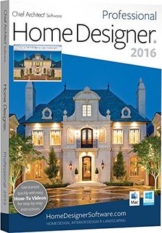 Chief Architect Home Designer Pro 2016 Home Designer Professional, by Chief Architect, is professional home design software for the serious DIY home ...