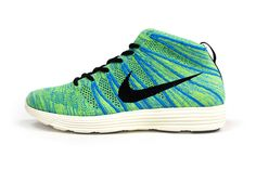 Nike Lunar Flyknit Chukka Green/Blue/Pink