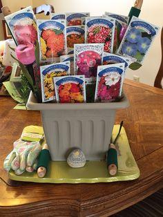 Thinking spring raffle basket!!