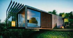 Casas en contenedores de mercancía, ¿vivirías en ellos?