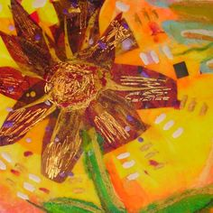Encaustic Collage with Iron & Stylus at Little Long & Bead Trails
