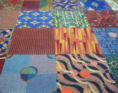 assorted carpet tiles