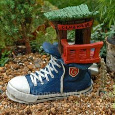 Fairy Homes and Gardens - Sneaker Fairy Clubhouse, $36.75 (https://www.fairyhomesandgardens.com/sneaker-fairy-clubhouse/)