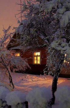 Вечер. #зима #winter