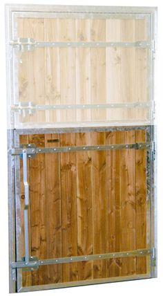 Porte De Box Pour Chevaux Battants Standard Hangar Pinterest - Porte de box chevaux