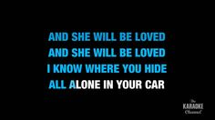 "She Will Be Loved in the Style of ""Maroon 5"" karaoke video with lyrics (..."
