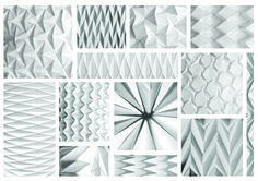 paper folding models, experimentation