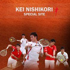日清食品所属のプロテニスプレイヤー、錦織圭のスペシャルサイト。
