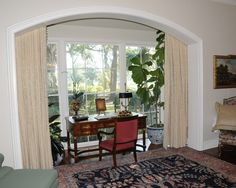 Elegant Small House Design with Old Style: Fabulous Home Office Design With View Fresh Indoor Plants Levy Home Office Workspace, Small House Design, Home Office Design, Indoor Plants, Fresh, Elegant, Furniture, Home Decor, Style