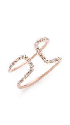 Gabriela Artigas White Diamond Cutout Ring!   I'll dream of this ring tonight as I sleep.
