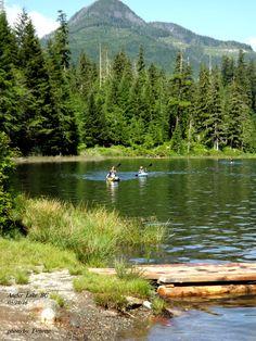 Antler Lake , Gold River BC Gold River, Super Natural, Vancouver Island, Paddle Boarding, British Columbia, Surfboard, Kayaking, Surfing, Canoes
