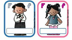 Material didactico Stickers, School, Fictional Characters, Label, Names, Alphabet, Home, Fantasy Characters, Decals