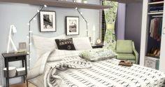 Pastel Bedroom at Sims4 Luxury via Sims 4 Updates