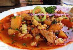 Bográcsgulyás Sylvia Gasztro Angyal konyhájából