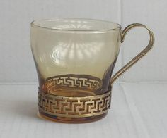 #collectibles Demitasse / espresso glass cup - double shot size - withing our EBAY store at  http://stores.ebay.com/esquirestore