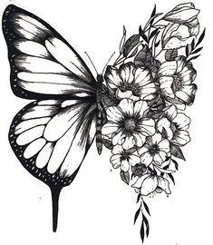 Tattoo Drawings, Body Art Tattoos, Small Tattoos, Tattoo Sketches, Tatoos, Medium Size Tattoos, Fake Tattoos, Couple Tattoos, Butterfly Drawing