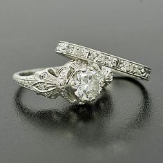 Beautiful antique wedding rings