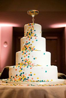 Brides: Rainbow Wedding Cakes for Summer | Summer Weddings | Wedding Ideas | Brides.com