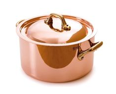 Mauviel Made In France MHeritage Copper M150B 652220 33Quart Round Casserole with LidBronze Handles -- Read more reviews of the product by visiting the link on the image.(This is an Amazon affiliate link and I receive a commission for the sales)