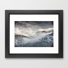 The Clouds Framed Art Print by jphoto - $34.00