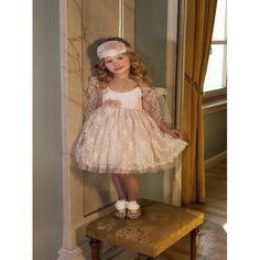 Οικονομικό βαπτιστικό φόρεμα Dolce Bambini από Γαλλική δαντέλα σε σάπιο μήλο απόχρωση, Βαπτιστικά ρούχα για κορίτσι επώνυμα, Dolce Bambini βαπτιστικά φορέματα τιμές-προσφορά, Φόρεμα βάπτισης νέες παραλαβές eshop