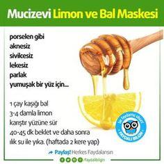 Mucizevi Limon ve Bal Maskesi #sağlık #bilgi #faydalıbilgi @faydalibilgin #limon #bal