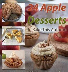 24 Delicious Apple Desserts To Bake This Autumn: Planning on baking all of them!!