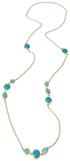 Fornash Long Jewel Cabana Necklace on shopstyle.com