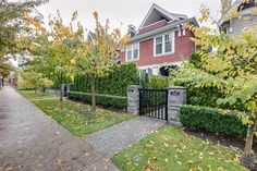 Vancouver - The 3 story at 447 West Avenue has been sold. Warm and welcoming ½ duplex in the heart of Cambie Village. Vancouver Real Estate, Sidewalk, Deck, Outdoor Decor, Home Decor, Homemade Home Decor, Decks, Walkways, Interior Design