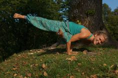 Eka Pade Koundinyasana - a great arm balance that challenges both your strength and flexibility, and gets you nice and warm as well!